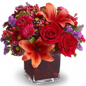 Image of 7176 Autumn Grace from Rose of Sharon Florist