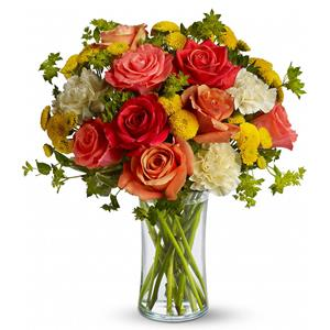 Image of 6858 Citrus Kissed  from Rose of Sharon Florist