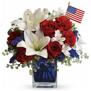 Image of 6196 America the Beautiful   from San Luis Obispo Flower Shop