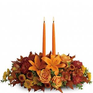 Image of 6476 Family Gathering Centerpiece from Rose of Sharon Florist