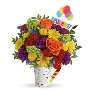 Image of 8152 Celebrate Bouquet from Santa Barbara Flowers