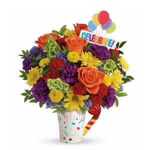 Image of 8153 Celebrate Bouquet from Santa Barbara Flowers