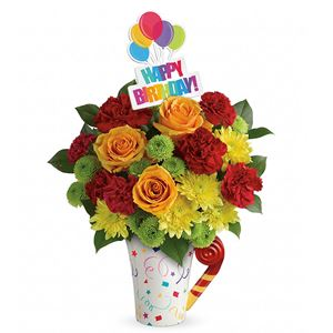 Image of 8149 Fun and Festive Bouquet from San Luis Obispo Flower Shop