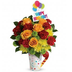 Image of 8150 Fun and Festive Bouquet from San Luis Obispo Flower Shop