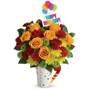 Image of 8151 Fun and Festive Bouquet from San Luis Obispo Flower Shop