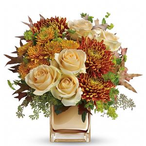 Image of 7801 Autumn Romance Bouquet  from Rose of Sharon Florist