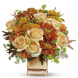 Image of 7802 Autumn Romance Bouquet  from Rose of Sharon Florist