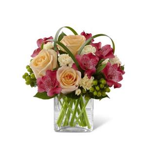 Image of 3762 All Aglow from Rose of Sharon Florist
