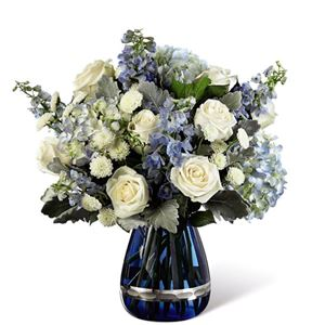 Image of 3163 Faithful Garden Bouquet from Santa Maria Florist