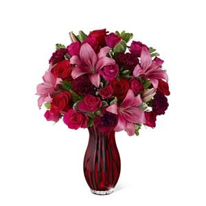 Image of 3026 Ruby Romance from Rose of Sharon Florist