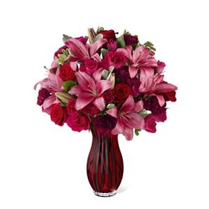 Image of 3027 Ruby Romance from Rose of Sharon Florist