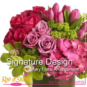 Image of 1038 Signature Luxury Design from Santa Maria Florist