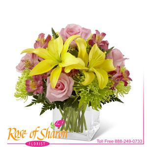 Image of 2272 Breath of Spring Bouquet from Rose of Sharon Florist