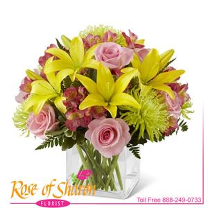 Image of 2273 Breath of Spring Bouquet from Rose of Sharon Florist