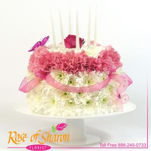 Image of 2282 Pastel Birthday Cake from Arroyo Grande Flower Shop.com™