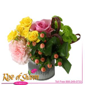 Image of 2518 Miki Spring Bouquet from Santa Barbara Flowers