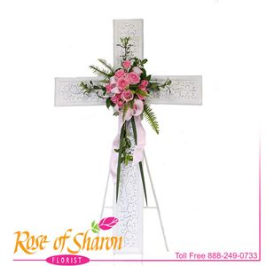 Image of 2614 Cross of Passion from Rose of Sharon Florist