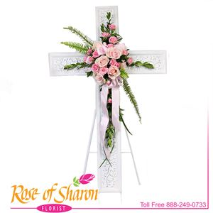 Image of 2635 Cross of Passion from Rose of Sharon Florist
