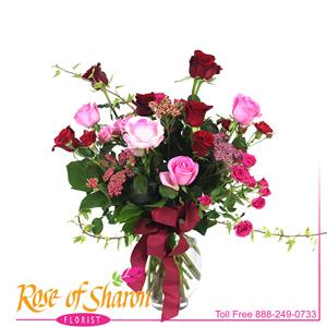 Image of 2791 Amaya Deluxe Rose Bouquet from Rose of Sharon Florist