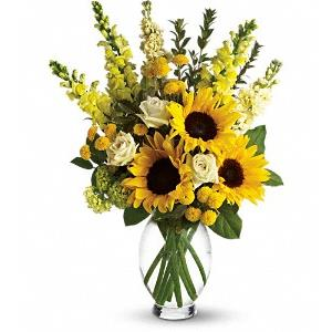 Image of 6161 Here Comes The Sun  from Rose of Sharon Florist