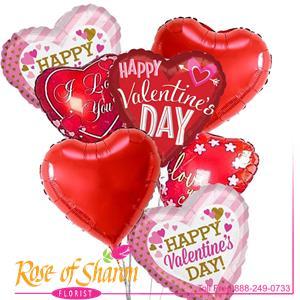 Valentines Day Balloon Bouquet
