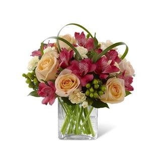 Image of 3763 All Aglow from Rose of Sharon Florist
