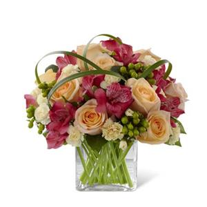 Image of 3765 All Aglow from Rose of Sharon Florist