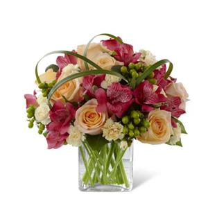 Image of 3764 All Aglow from Rose of Sharon Florist