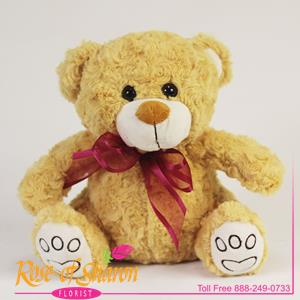 Sitting Plush Bear
