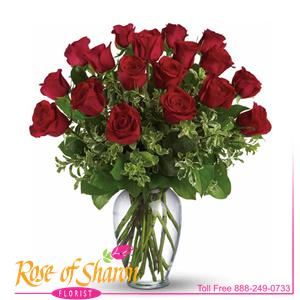 18 Premium Roses