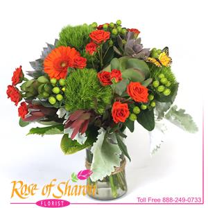 Image of 1989 Ariana Vase Arrangement from Rose of Sharon Florist