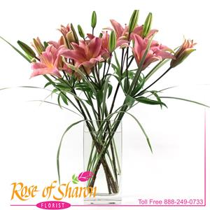Image of 2019 Lovely Lilies from Rose of Sharon Florist
