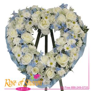 Michael Heart Wreath
