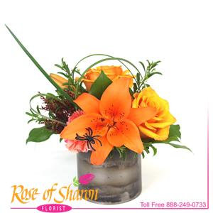 Image of 2040 Eli Autumn Bouquet from Rose of Sharon Florist