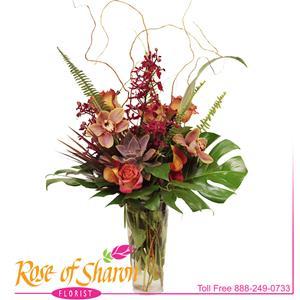 Mason Vase Arrangement