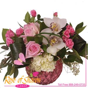 Image of 2098 Ruby Bouquet from Rose of Sharon Florist
