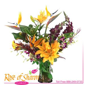 Savannah Vase Arrangement product image.