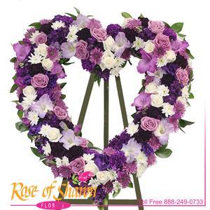 Purple Passion Heart