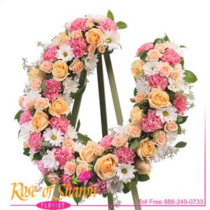 Custom Horseshoe Floral