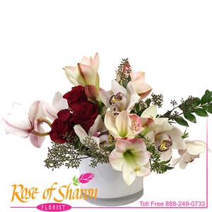 Image of 2382 Jenavie Bouquet from Rose of Sharon Florist
