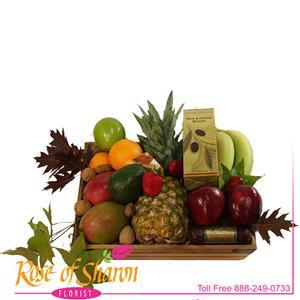 Fruit Baskets from Rose of Sharon Florist