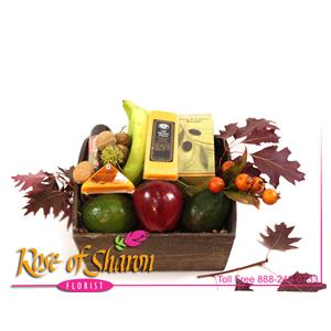 Autumn Food Gifts from Rose of Sharon Florist