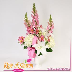 Fresh Flower Grave Arrangement