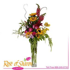 Lange Vase Bouquet