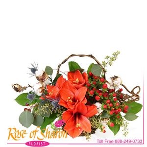 Sienna Autumn Table Bouquet