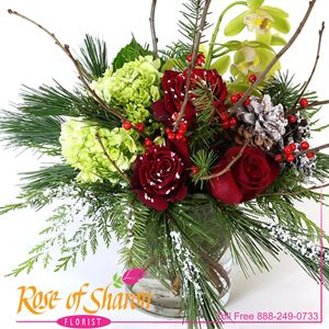 Image of 2691 Sierra Madre Snowfall from Rose of Sharon Florist