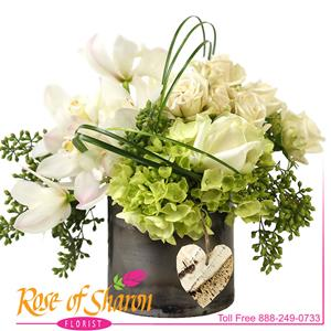 Image of 2693 Hubert Bouquet from Rose of Sharon Florist