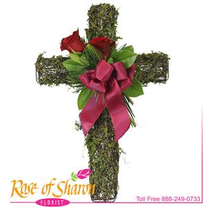 Graveside & Monument from Rose of Sharon Florist