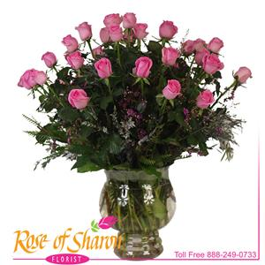 Blushing Rose Premium Bouquet