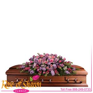 Casket Sprays from Rose of Sharon Florist